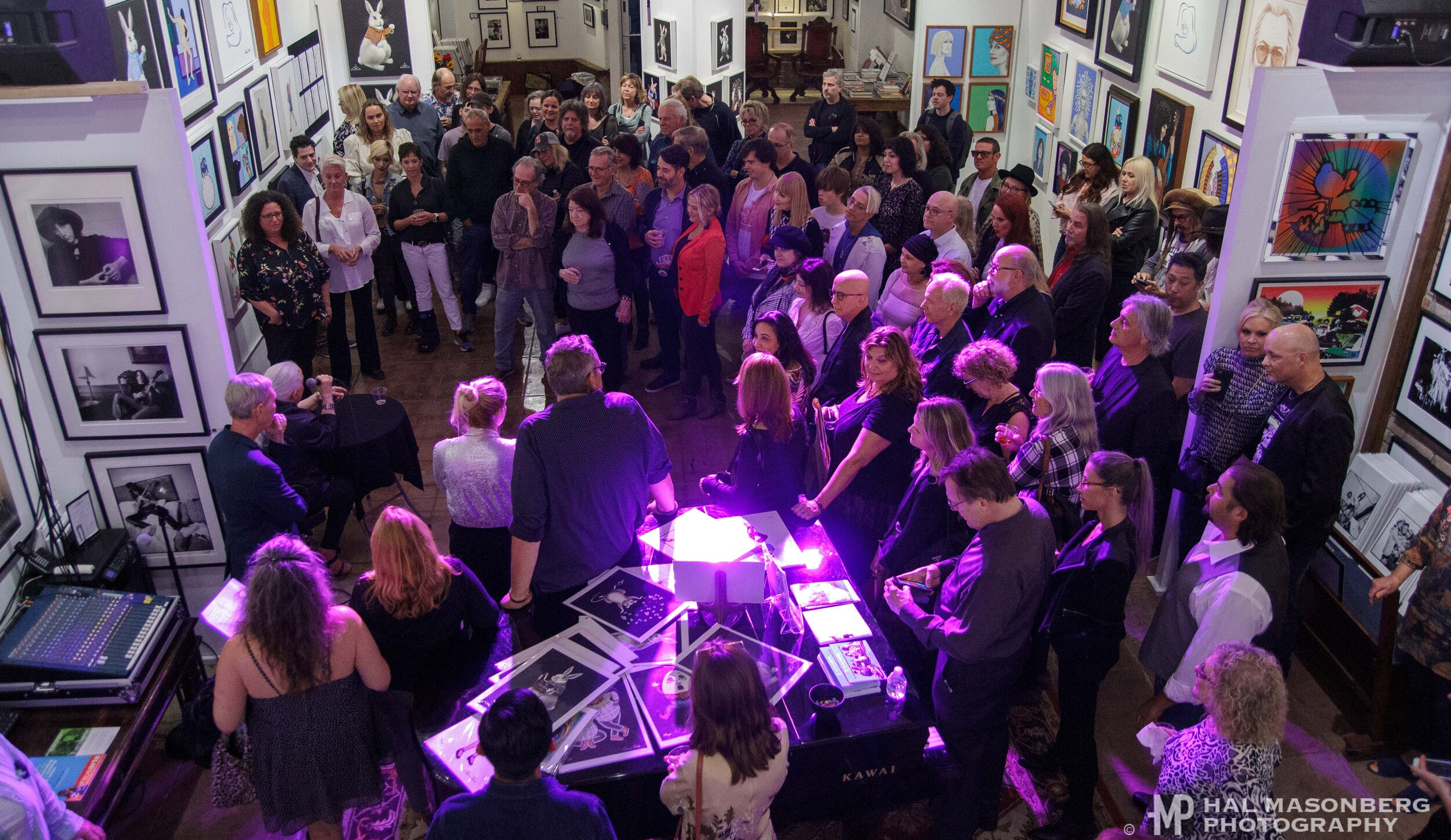 Grace Slick - Original Art Exhibition at Mr. Musichead Art Gallery